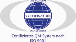 Zertifizierung QM nach ISO 9001